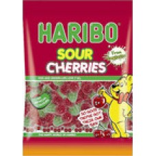 160g Bag of Haribo Sour Cherries