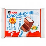 6 x Kinder Chocolate Snack Bars