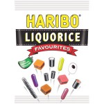 160g Bag of Haribo Liquorice Favourites