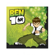 20 x Ben 10 Disposable Party Napkins