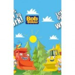 Bob The Builder Plastic Table Cover