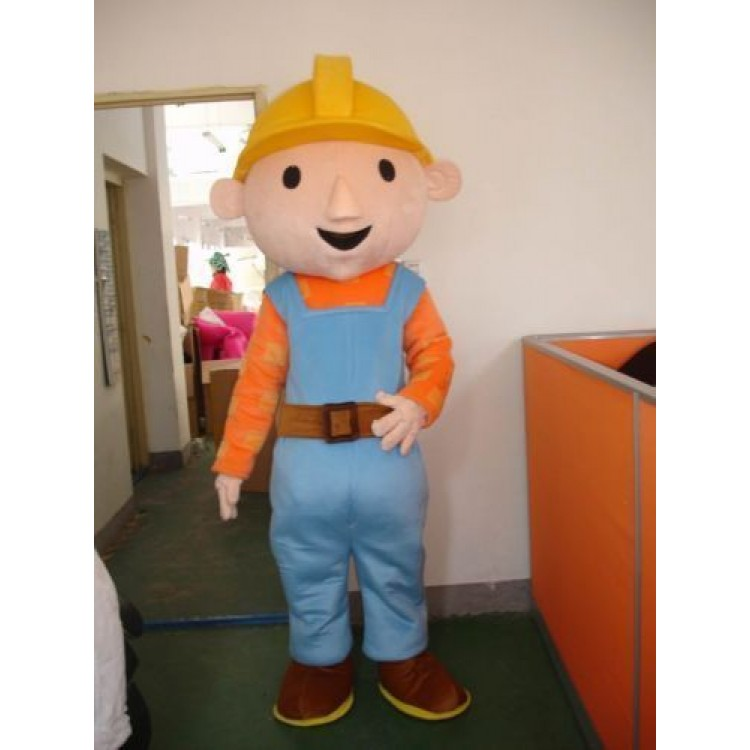 Bob The Builder Halloween Costume For Adults Bob The Builder Adult Mascot