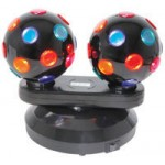 DUAL ROTATING DISCO BALLS (153.150UK)