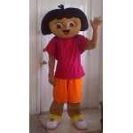 Dora The Explorer Adult Mascot Costume Hire