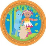8 x In The Night Garden Party Plates
