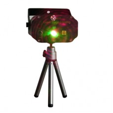 Stage Laser Projector Strobe Bursting Stars