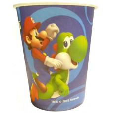 8x Nintendo Super Mario Brothers Party Cups