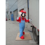 Super Mario Brothers Adult Mascot Costume Hire  (Mario)