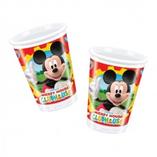 10 x Mickey Mouse Clubhouse Plastic Cups