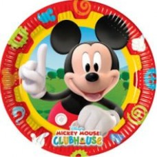 10 x Mickey Mouse Clubhouse Paper Plates
