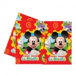 Mickey Mouse Clubhouse Plastic Table Cloth
