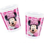 10 x Minnie Mouse Party Plastic Cups