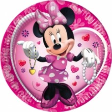 10 x Minnie Mouse Party Plates
