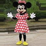 Minnie Mouse Adult Mascot Costume Hire