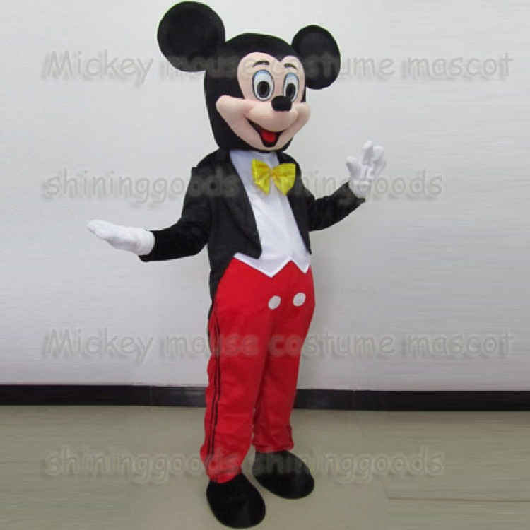 & Mickey Mouse Adult Mascot Costume Hire