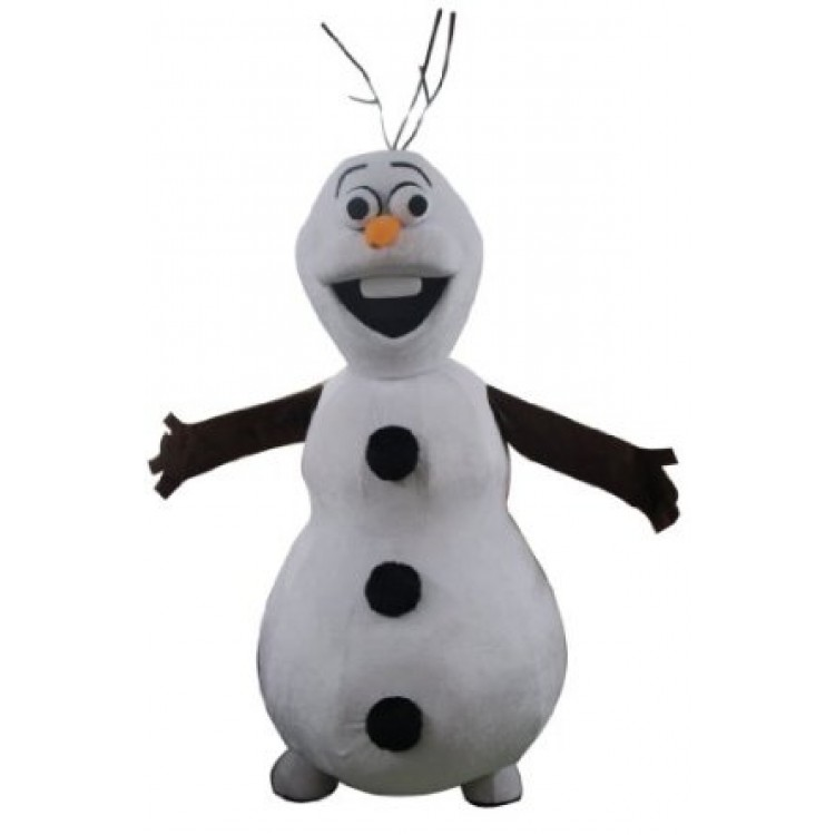 Olaf Frozen Adult Mascot Costume Hire