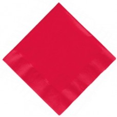 20 x Red Party Napkins