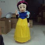 Princess Snow White Adult Mascot Costume Hire