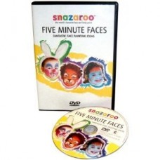 Snazaroo Five Minute Faces Face Painting instructions/guide (DVD)